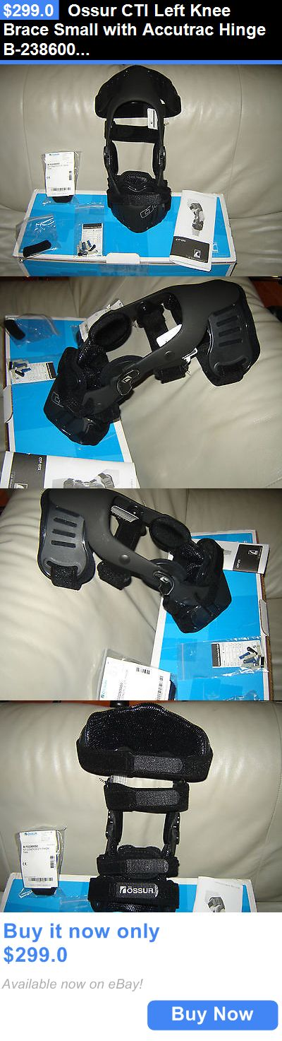 Orthotics Braces and Sleeves: Ossur Cti Left Knee Brace Small With Accutrac Hinge B-238600112 BUY IT NOW ONLY: $299.0