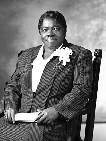 Mary McLeod Bethune: educator, stateswoman, and Civil Rights Activist. A friend of Eleanor Roosevelt who worked on FDR's presidential campaign, helped him reach the black community - who had traditionally been Republican  voters - and joined FDR and Eleanor's Black Cabinet after his election in 1933.