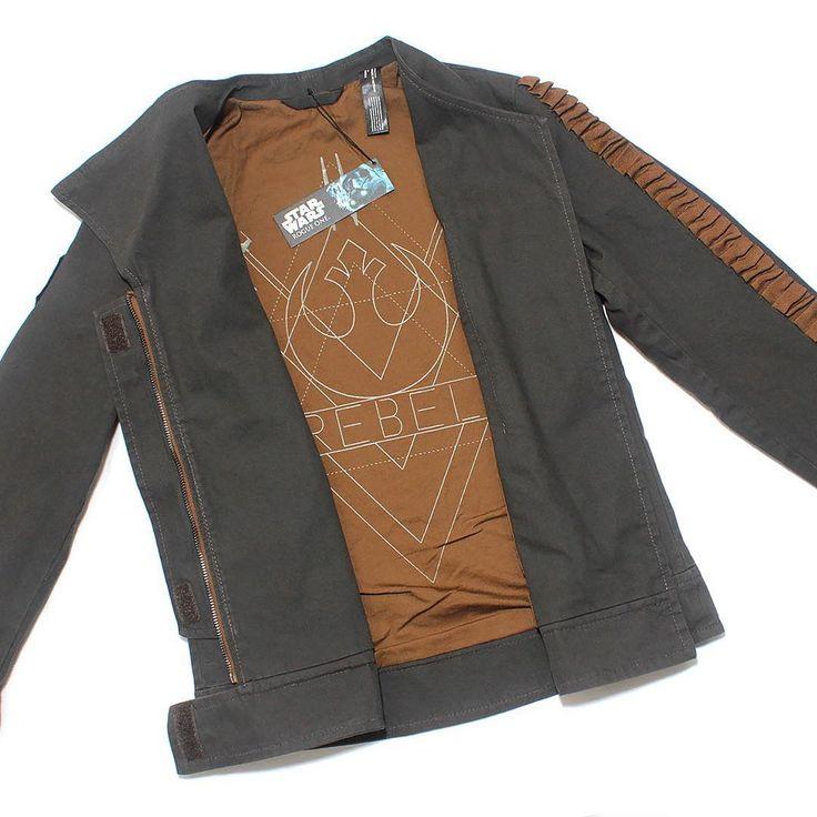 Women's Musterbrand x Star Wars Rogue One Jyn Erso costume inspired Rebel Alliance jacket ⭐️ Star Wars fashion ⭐️ Geek Fashion ⭐️ Star Wars Style ⭐️ Geek Chic ⭐️