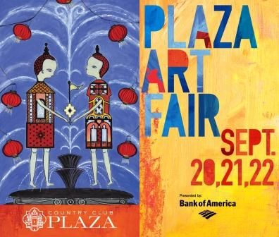 Plaza Art Fair  - the best party of the year.  And you never know....you might meet your soulmate.....