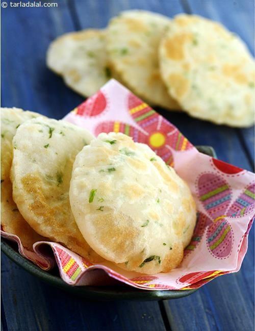 Masala Coorgi Puris recipe   by Tarla Dalal   Tarladalal.com   #39268