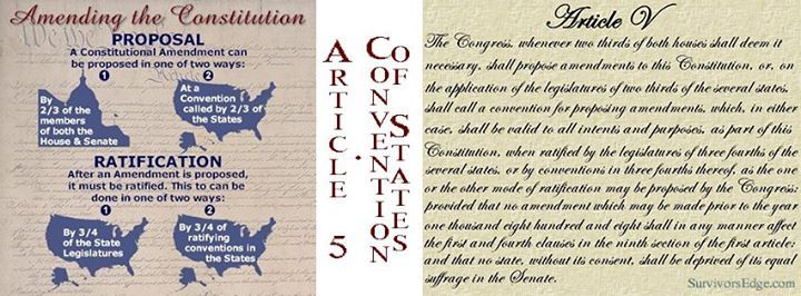 The Strategy Two goals separate our plan from all other Article V organizations: 1. We want to call a convention for a particular subject rather than a particular amendment. Calling a convention for a balanced budget amendment (though we are entirely supportive of such an amendment) addresses only one of a number of issues. The Convention of States Application allows for multiple Amendments to be considered for the purpose of limiting the power and jurisdiction of the federal government…
