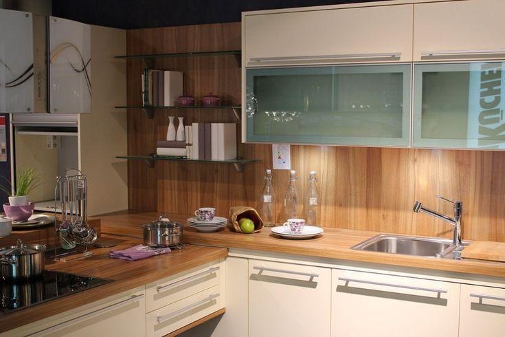 Drewno na ścianach w kuchni