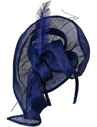Large Loopy Swirl W Feather/Quill $48.65
