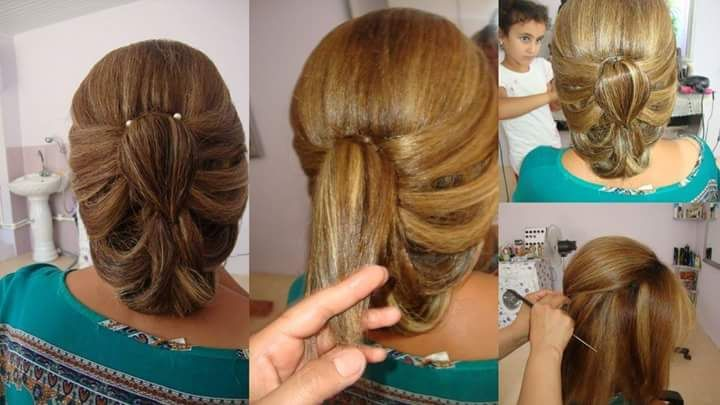 بالصور تسريحات شعر جديده بسيطه سيدات مصر Hair Styles Long Hair Styles Hair