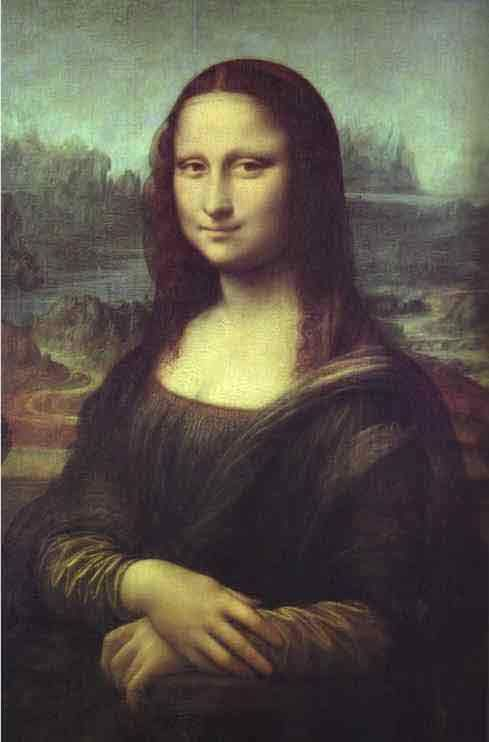 Mona Lisa ~ the mystery about this painting adds to the appeal