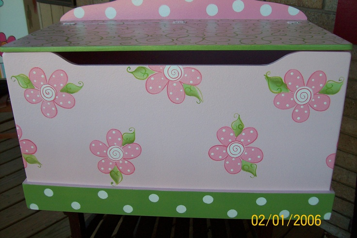 Toy Chest for Girls Toy Box storage chest storage by spoiltrottn, $188.00