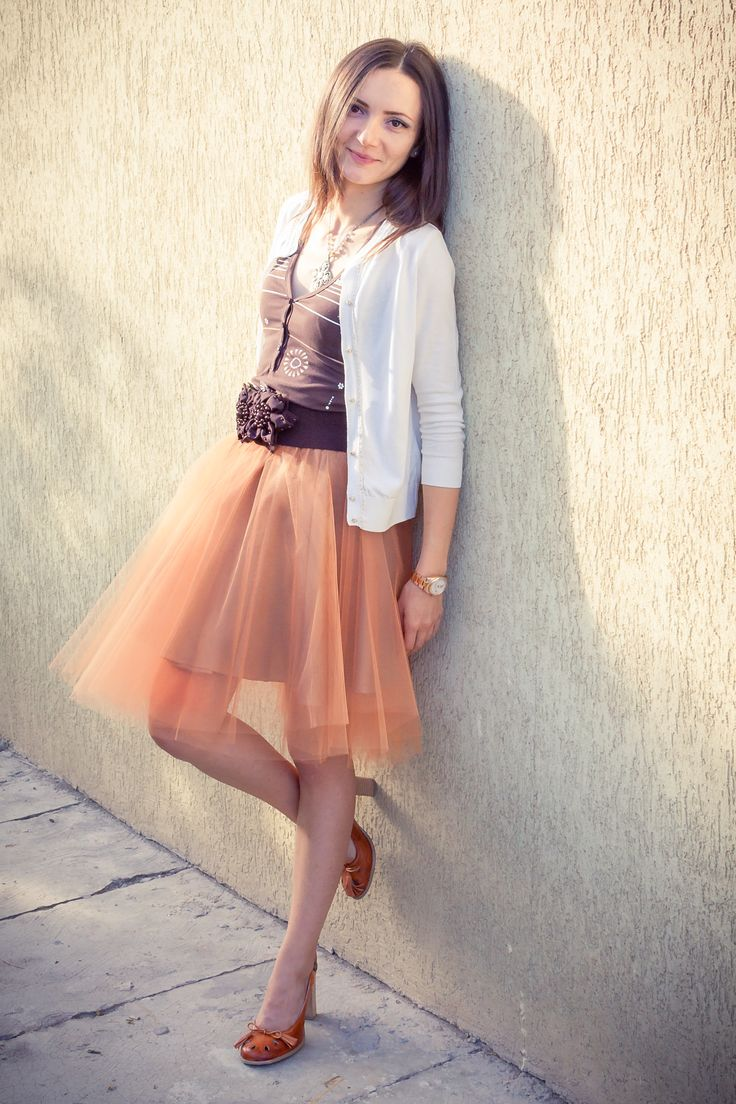 Tulle skirt and sun