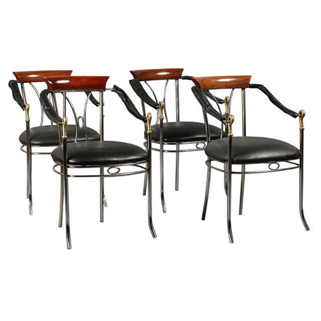 I Just Discovered This 7401 Set Of Four French Art Deco
