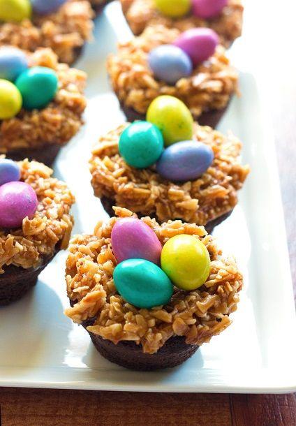 Gluten-Free Brownie Bird Nests