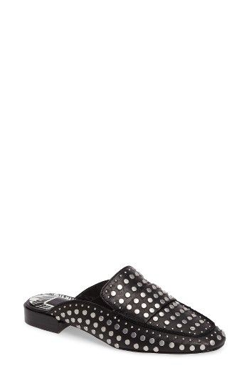 Free shipping and returns on Dolce Vita Maura Studded Backless Loafer (Women) at Nordstrom.com. Backless is all the buzz, and this apron-toe mule amps up the look with a constellation of flat-headed studs and an exaggerated loafer profile.