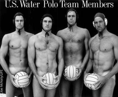 Where were these guys when i played??? They just help make it the best game ever! Lol U.S. Water Polo Team