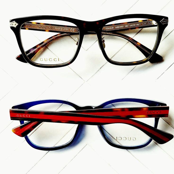 This awesome pair of #Gucci Eyewear just arrived at Eyes On Brickell. Get it here - http://floridaeyecareassociates.com/eyesonbrickell  #DesignerEyewear #Sunglasses #Miami