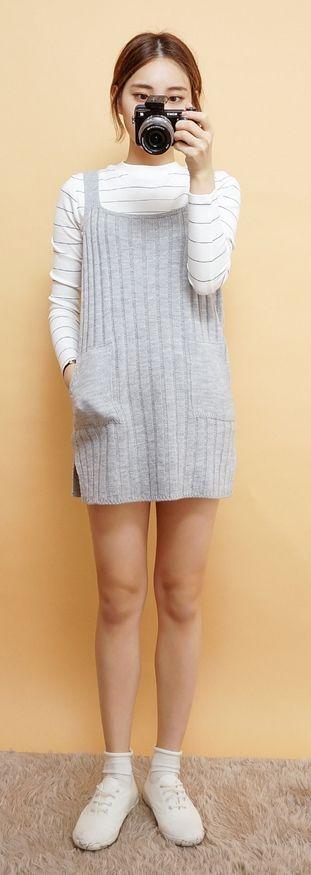 love the sweater dress.
