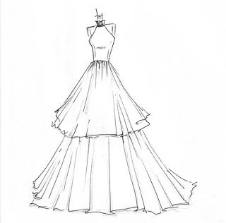 An Urban Cottage: Wedding Wednesday {on Thursday}: Dress Sketches