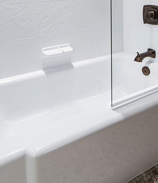 Best 25+ Bathtub liners ideas on Pinterest | Tub shower combo ...