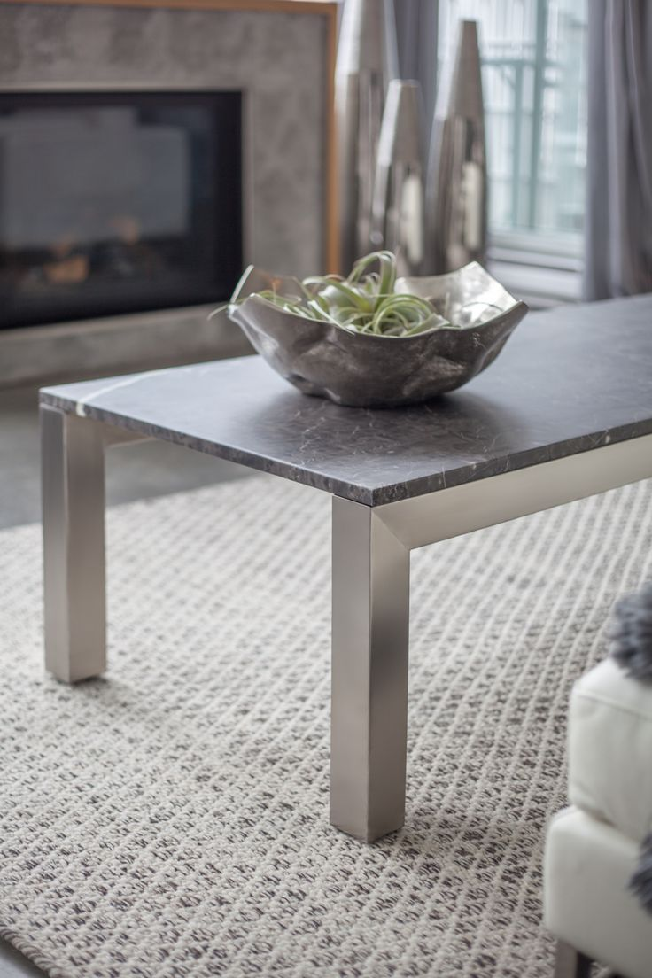 SHI MARBLE COFFEE TABLE The Simple, Elegant Lines Of Our Stainless Steel  Frames Complement Not Only The Table Tops, But Everything Else In The Room.