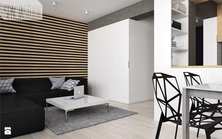 Salon styl Minimalistyczny - zdjęcie od Spacja Studio - Salon - Styl Minimalistyczny - Spacja Studio