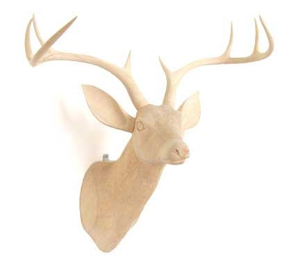 Wood Deer HeadGames Head, Carvings Wood, Wood Deer, Decor Ideas, Bambi Mothers, Wild Games, Deer Heads, Deer Head Wood Carvings, Opt Wood Head Deer Jpg