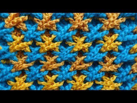 Объёмный узор вязания крючком 75 - YouTube