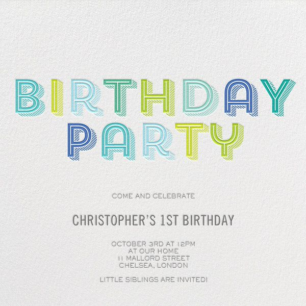 365 best Kids Birthday Invitations images – Online Kids Party Invitations