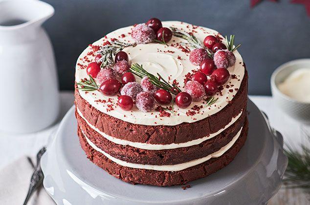 Receta de Pastel Red Velvet - Cocina Vital - ¿Qué cocinar hoy? | Receta | Pasteles deliciosos, Recetas de masitas dulces, Recetas de pasteles