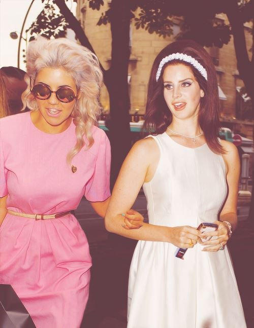 Marina and the Diamonds and Lana del Rey, my two favorites! Great tunes from those two