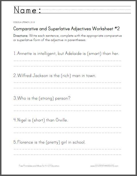 4 FREE ESL rewriting sentences worksheets
