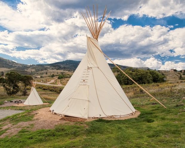 Teepee Camping: Flatiron Reservoir in Loveland, Colorado