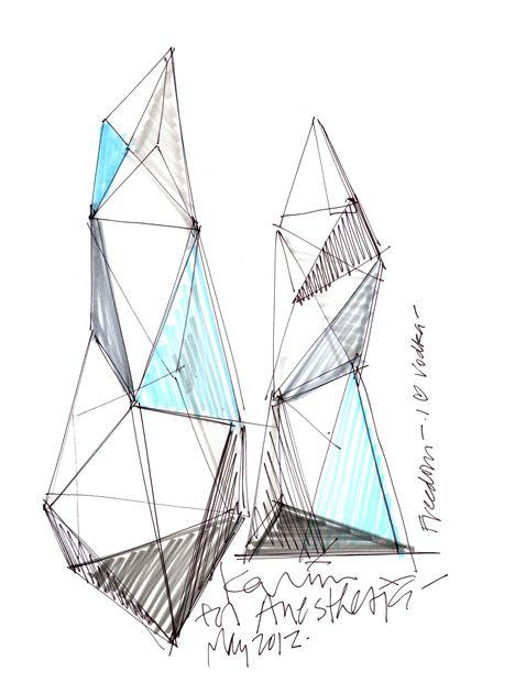 Vodka Bottle By Karim Rashid For Anestasia Sketch