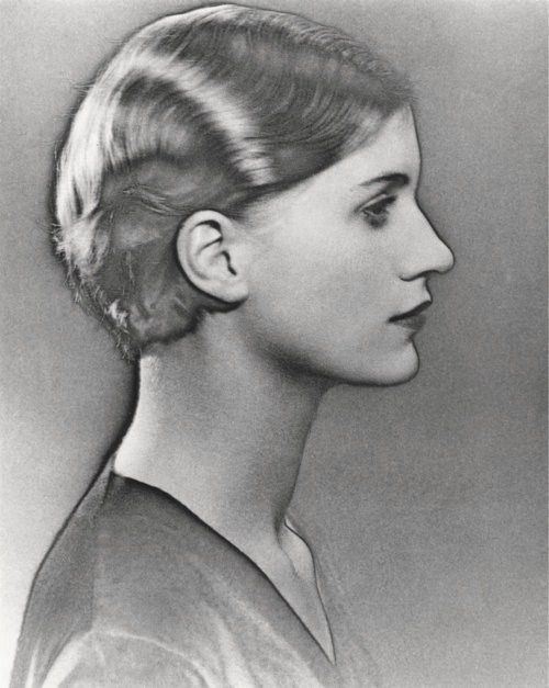 Man Ray: a solarized portrait of Lee Miller, 1930-a portrait of a famous photographer by a famous photographer. I personally prefer the work of Lee Miller over Man Ray. Cameron Diaz's doppelgänger.