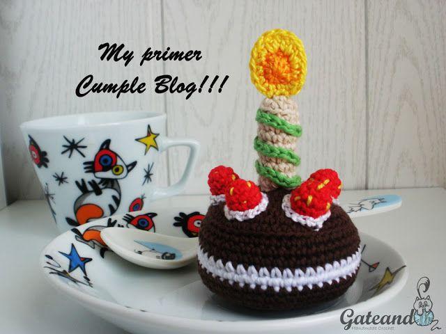 Amigurumi Birthday cake. Free Crochet pattern