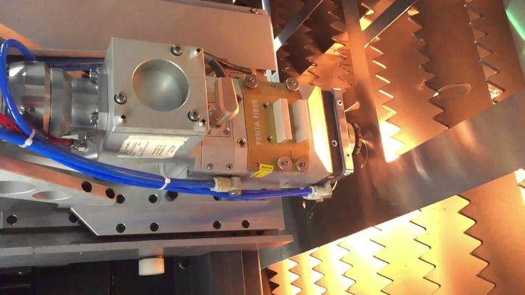 CNC Fiber Laser Cutting Machine FIBER4000W1