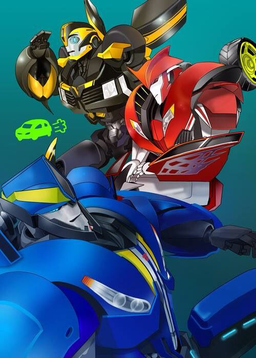 Transformers: Prime - Bumblebee, Smokescreen, and Knockout ...