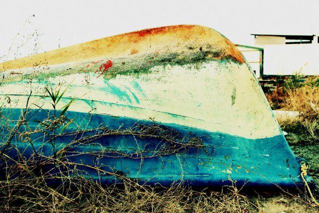 abandoned -- photo by Evi Tselempi