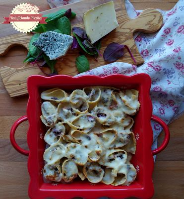 Batuffolando Ricette Girelle di pasta di lenticchie rosse con fondutina al gran mugello
