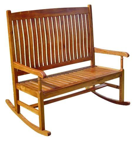 Rothstein 2-Seater Rocking Bench in 2020 | Rocking bench ...