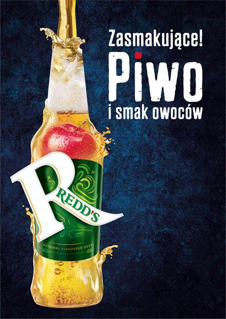 Właśnie wygraliśmy przetarg na stworzenie key visuala do ogólnopolskiej kampanii piwa Redd's, komunikującej nowe opakowania i nowe owocowe smaki.  Zwycięski projekt to ilustracja nowego pozycjonowania i charakteru piwa Redd's: 90% piwa i 10% owoców.  Kampania POS jest częścią ogólnopolskiej kampanii piwa, która rozpoczęła się w maju.
