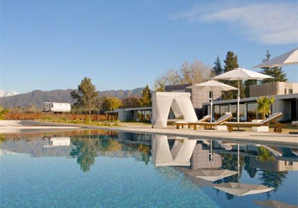 Entre Cielos in Argentina, one of GAYOT's Top 10 Wine Country Inns Worldwide