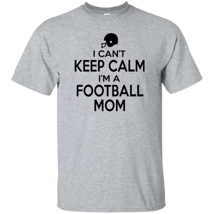 Can't Keep Calm Football Tee (unisex fit)
