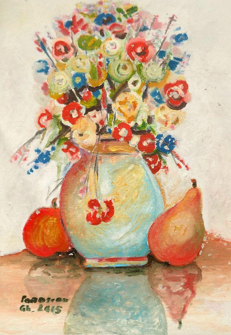 Picturi de Gheorghe Parascan | Flori de camp | Boutiq Art