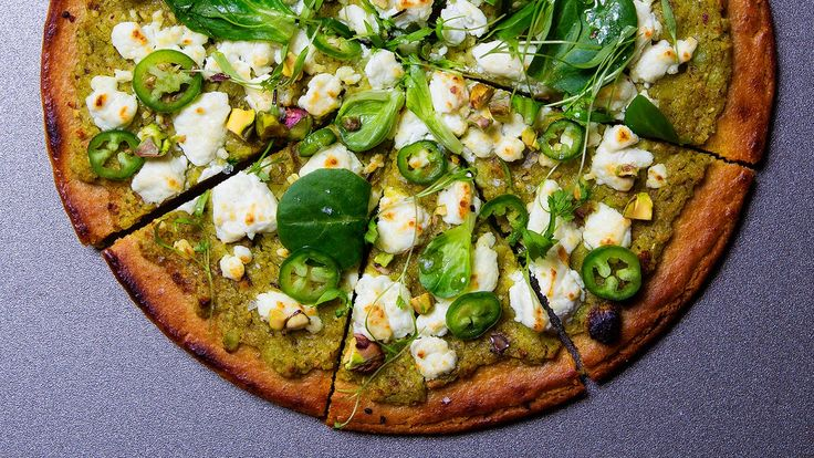Start cooking with chickpea flour (and fresh green chickpeas) in this socca pizza.