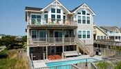 Ohana Cabana - B302 is an Outer Banks Oceanfront vacation rental in Ocean Dunes Duck NC that features 5 bedrooms and 5 Full 3 Half bathrooms. This rental has a private pool, an elevator, and a pool table among many other amenities. Click here for more.