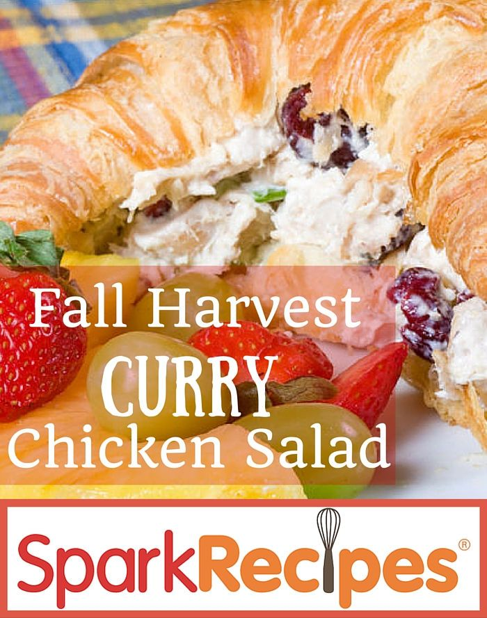 Fall Harvest Curry Chicken Salad Recipe