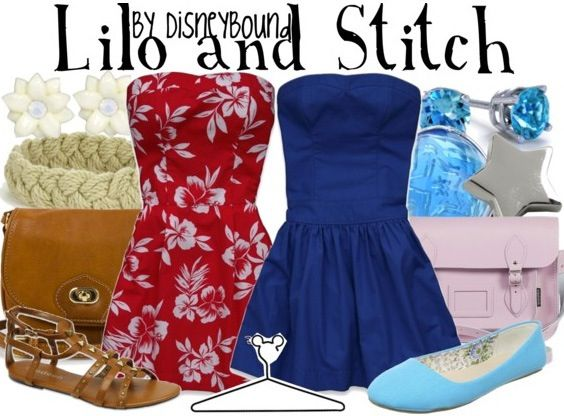 Disneybound. How cute is this? Misty maybe we can do this sometime? hehe I'll be Stitch. :-)
