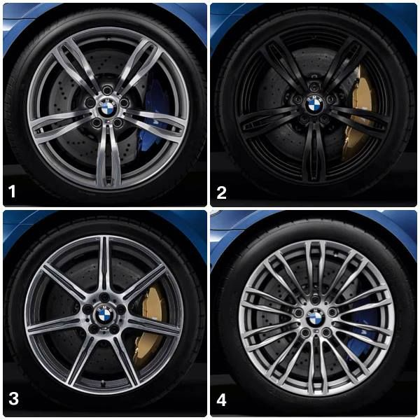 4 for the 5 – the BMW M5 alloy wheels. Which one do you like the most?