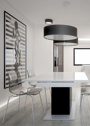Dining space design in Tarnowskie Góry, POLAND - archi group. Jadalnia w domu jednorodzinnym w Tarnowskich Górach.