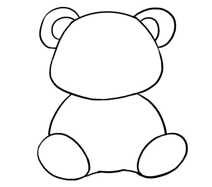 Risultati immagini per panda drawing