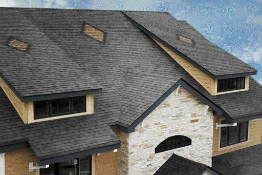 Best Create A Design On Your Roof Using Owens Corning Roof 400 x 300