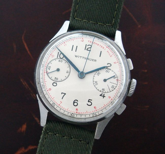 s 1945 wittnauer two register chronograph strickland